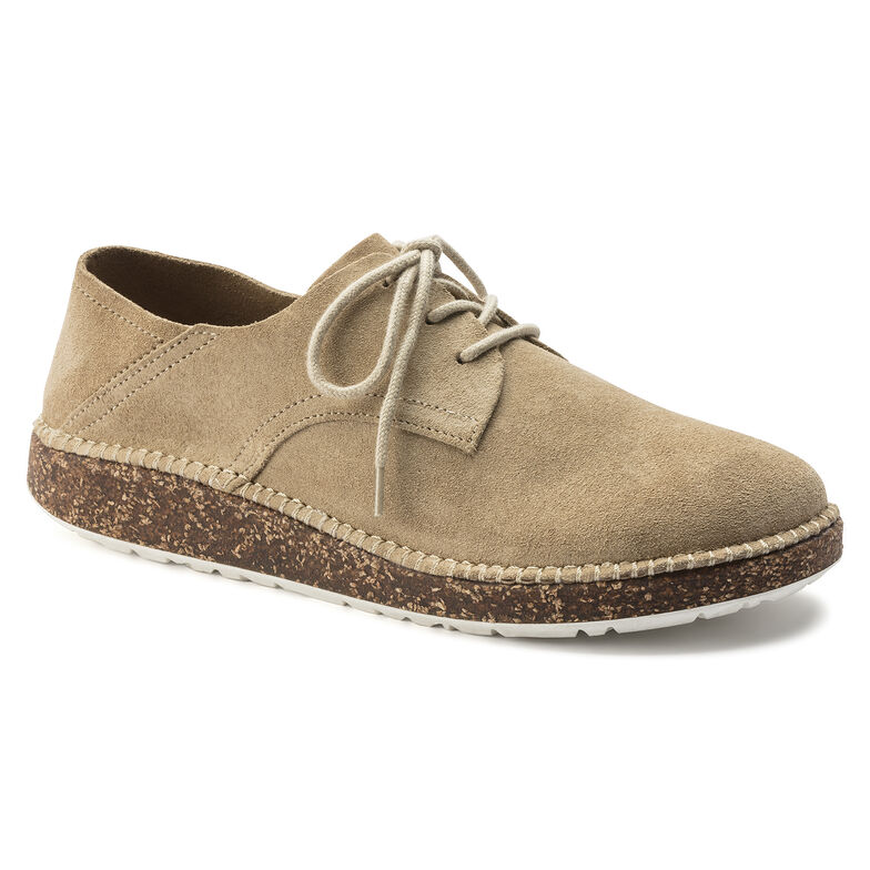 Gary Suede Leather Sand