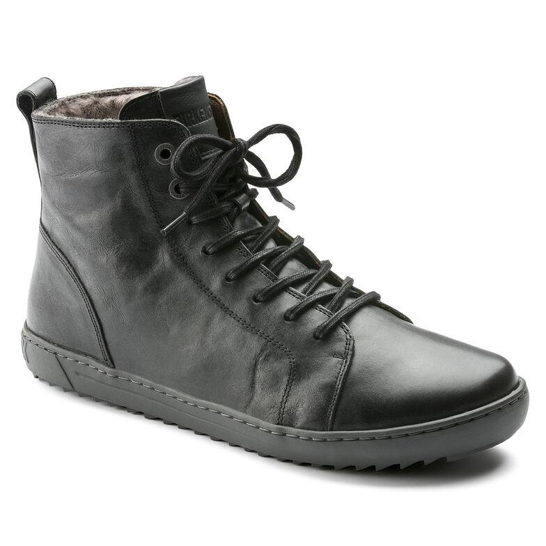 Bartlett Natural Leather Schwarz