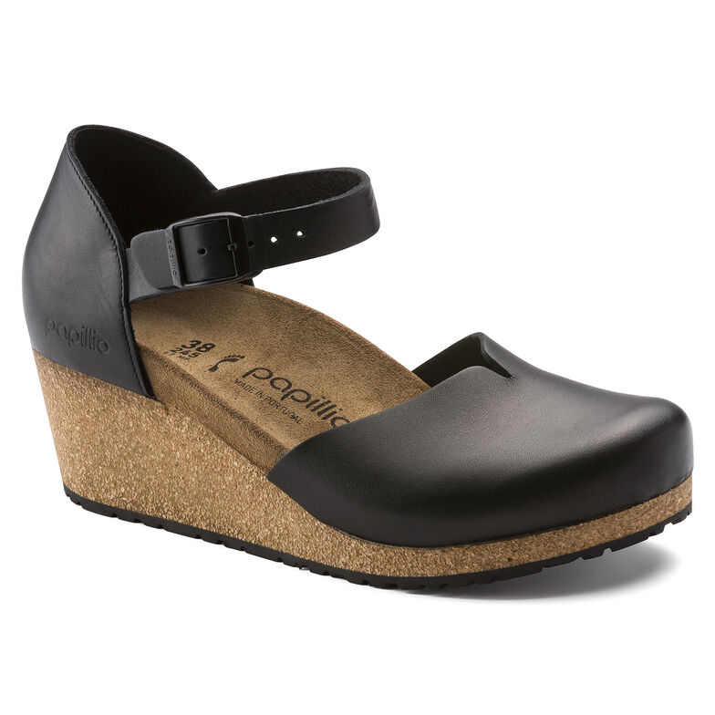 Mary Natural Leather Black