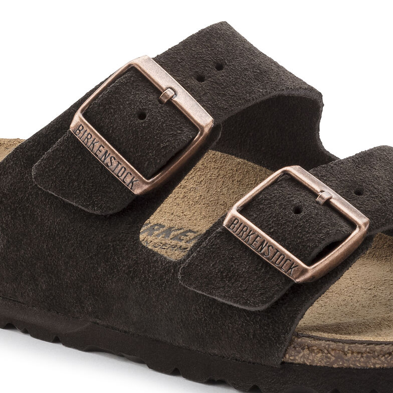 Arizona Suede Leather Mocha