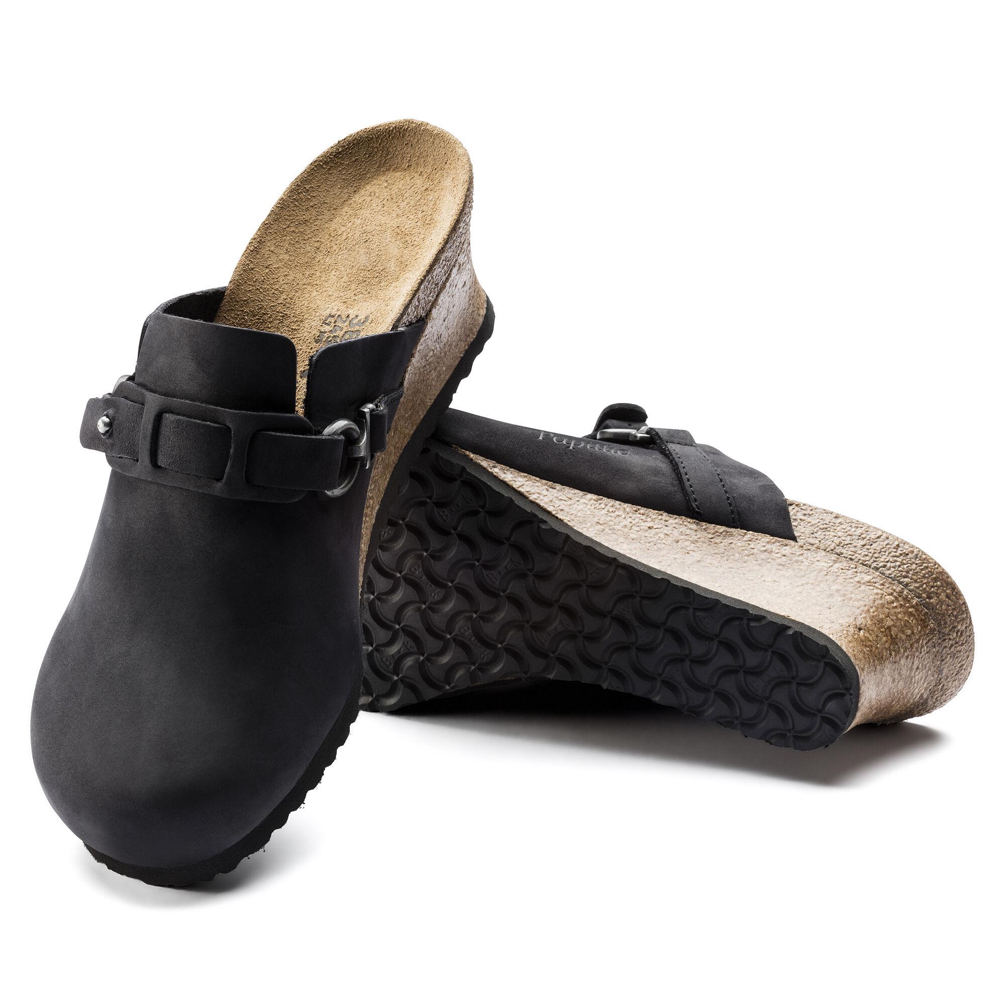 Dana Oiled Leather Black