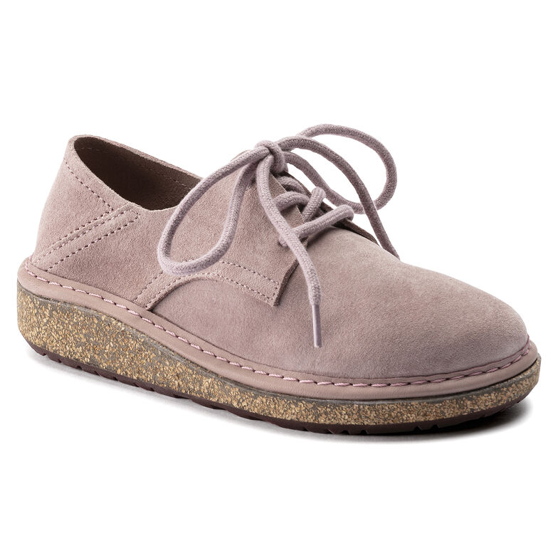 Gary Suede Leather Lavender Blush