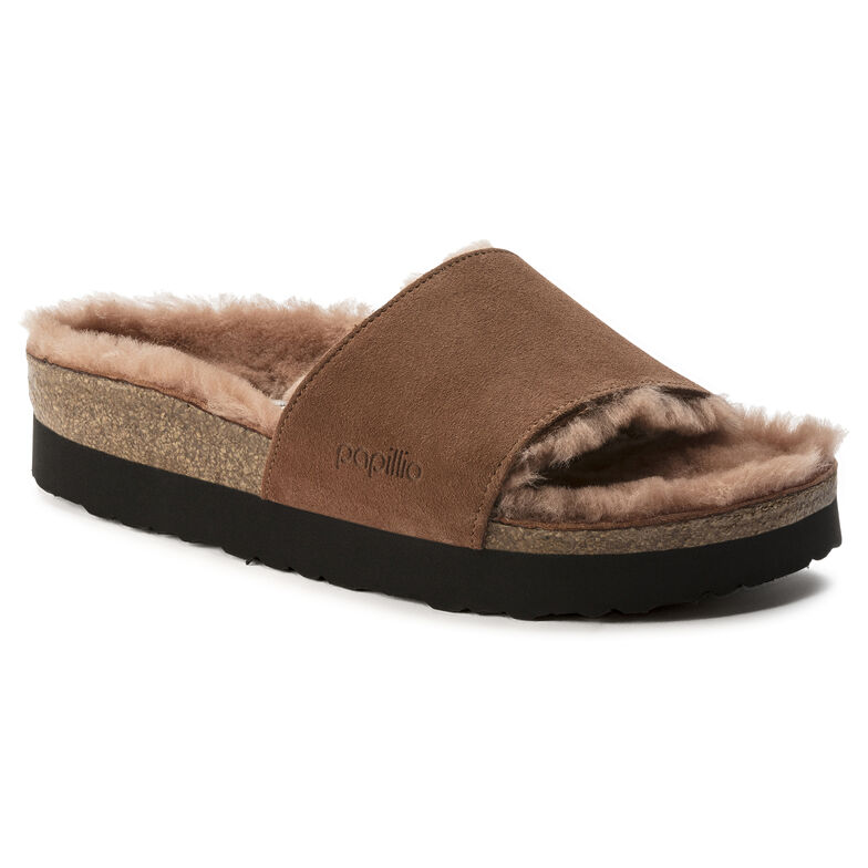 Cora Suede Leather Terracotta