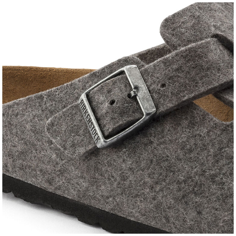 Boston Wool Felt Light Grey