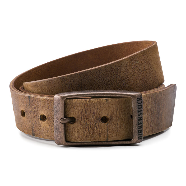 Kansas Belt Oiled Leather Cognac