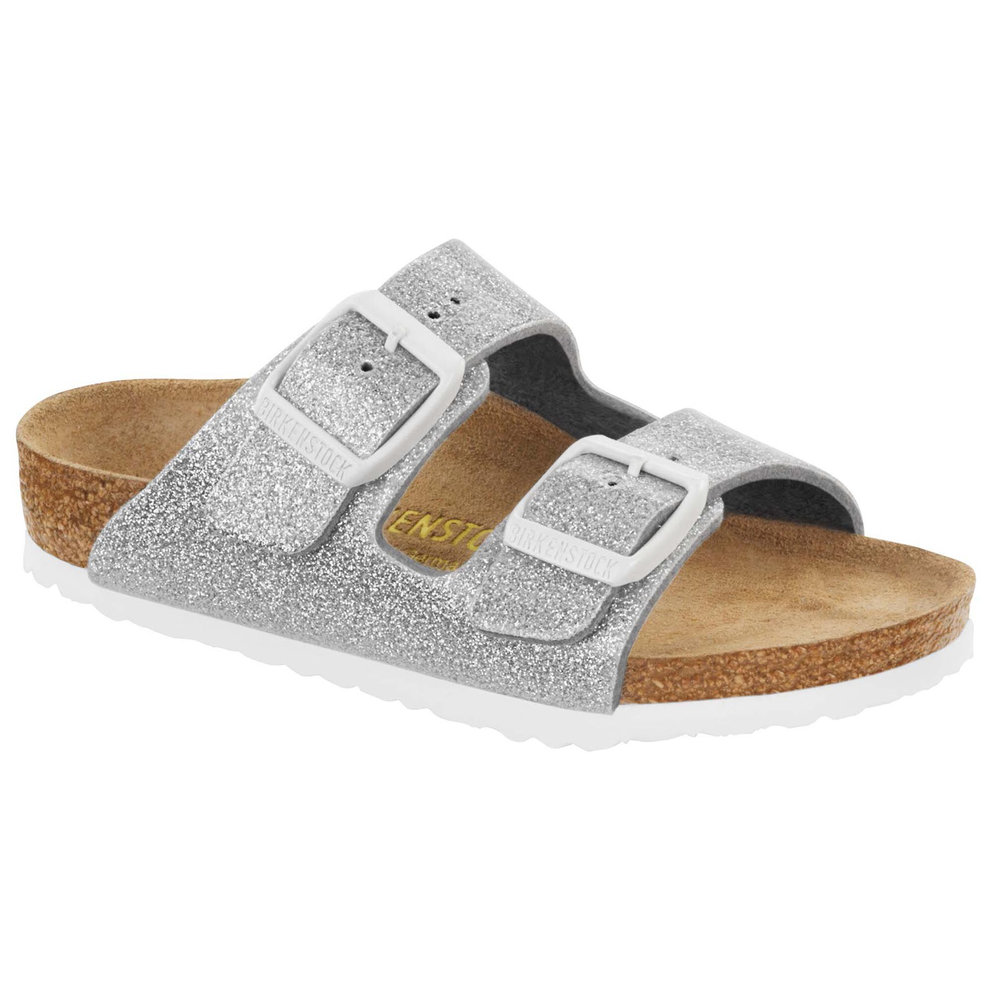 38b0226ef990 Arizona Birko Flor Magic Galaxy Silver Birkenstock