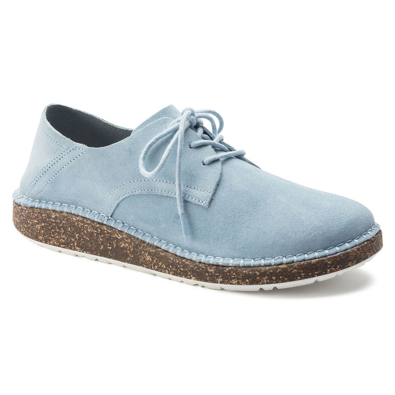 Gary Suede Leather Sky