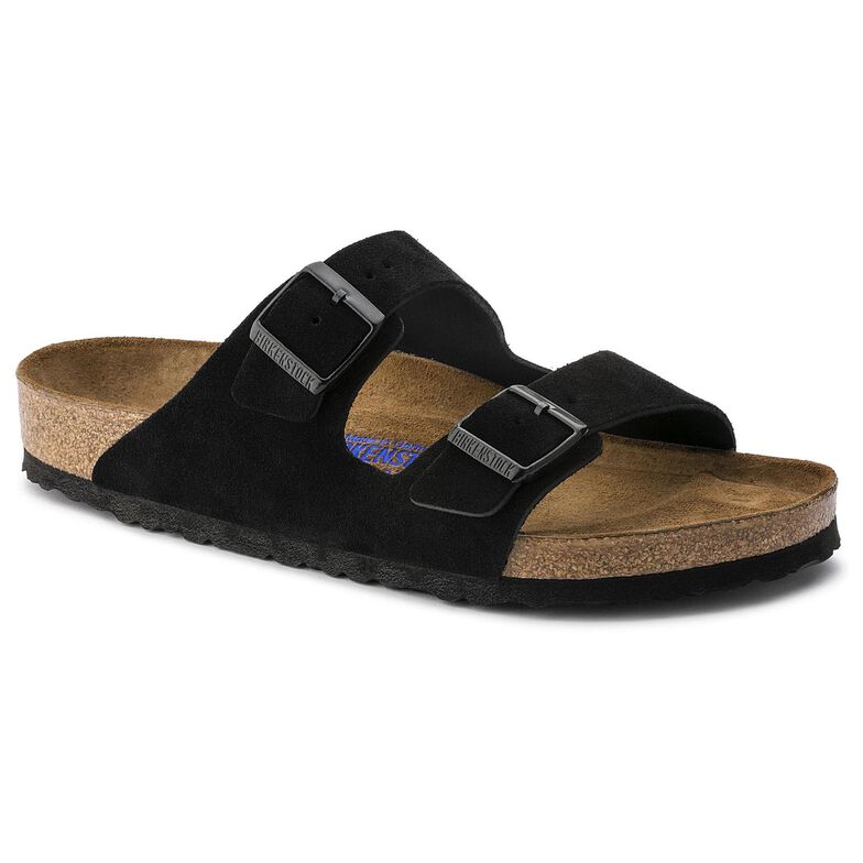 Arizona Suede Leather ブラック