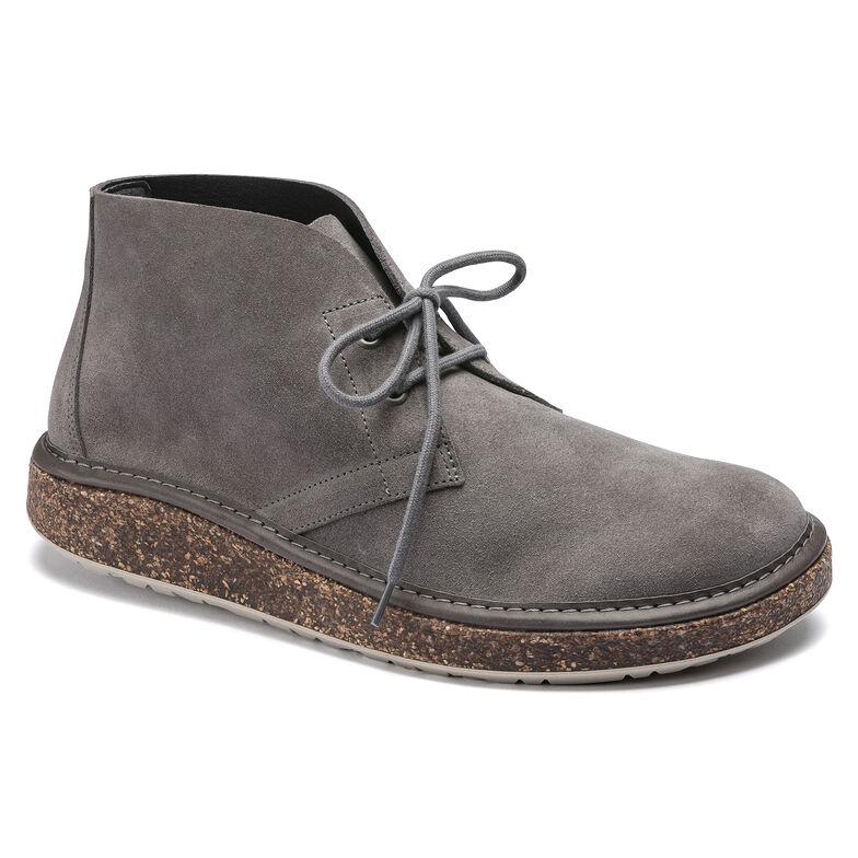 Milton Suede Leather Grey