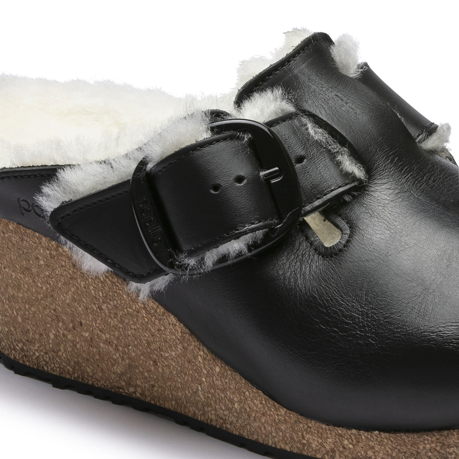 Fanny Big Buckle  Natural Leather