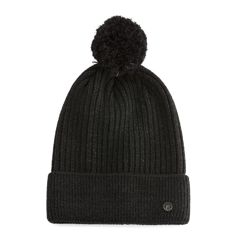 Cotton Hat Bling Black
