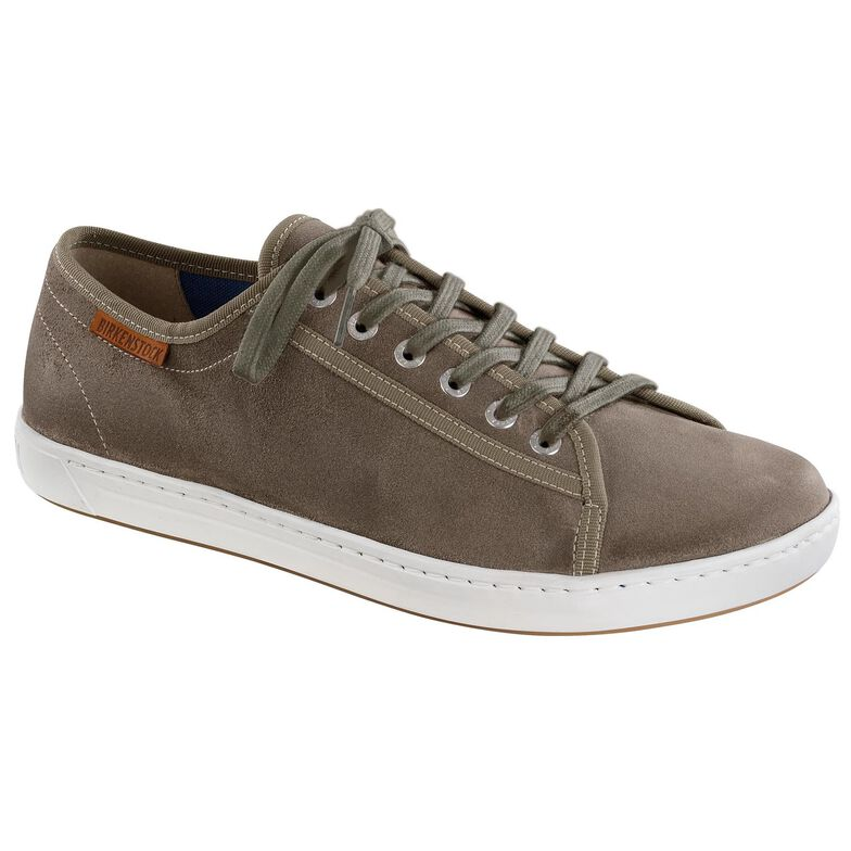 Arran Suede Leather Grey/Brown