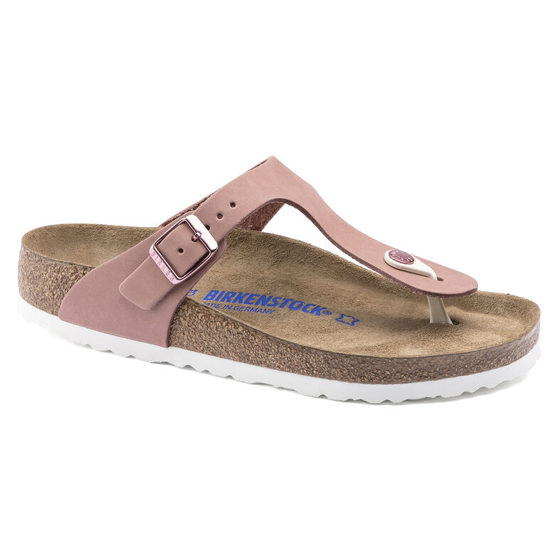 Gizeh Nubuck Leather Old Rose