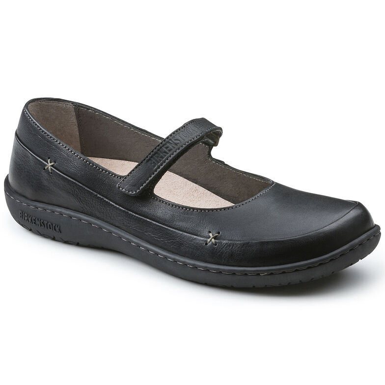 Iona Natural Leather Black