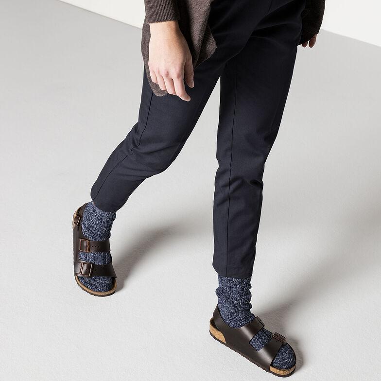 Milano Real Leather Soft footbed Amalfi Testa Di Moro