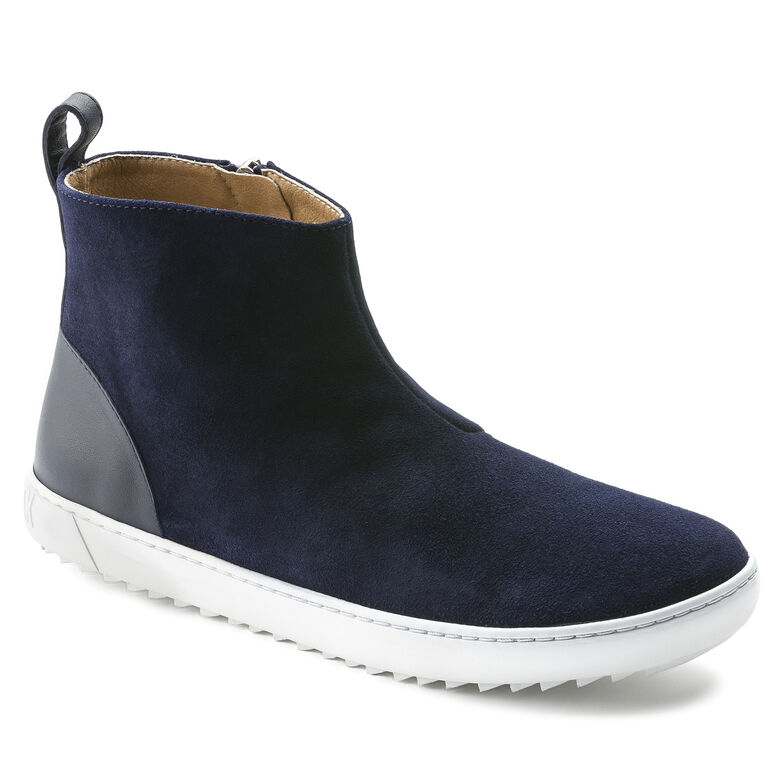 Myra Suede Leather Navy