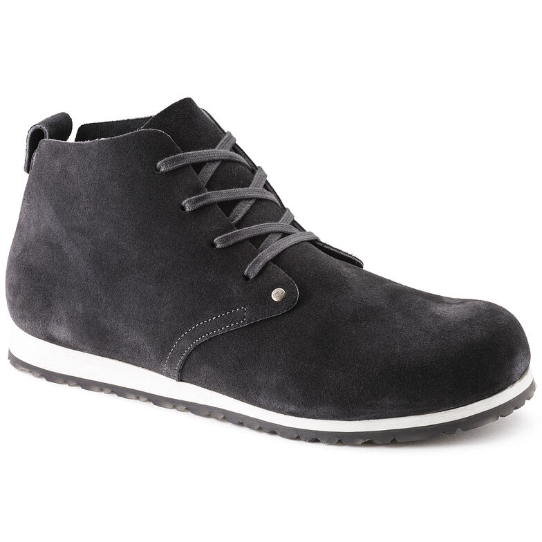 Dundee Suede Leather Dark Grey