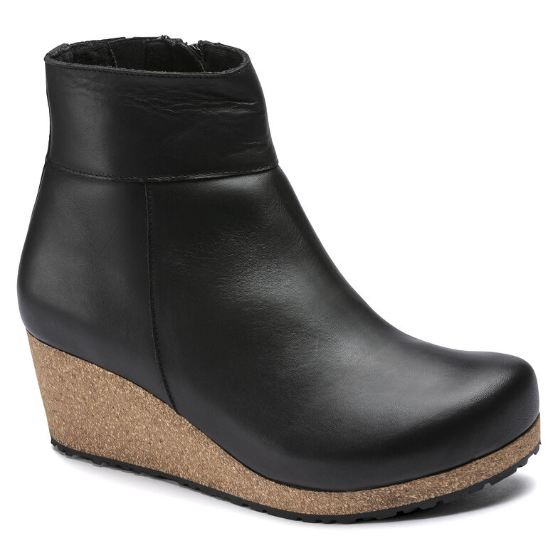 Ebba Natural Leather Black