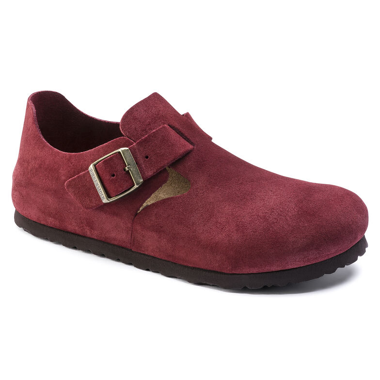 London Suede Leather Port