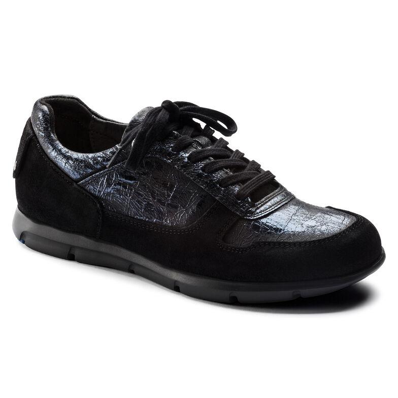 Cincinnati Suede Leather/Textile/Synthetics Metallic Dark Sapphire