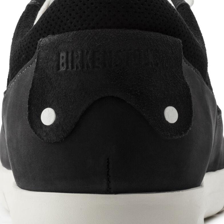 Cincinnati Nubuck/Suede Leather Black