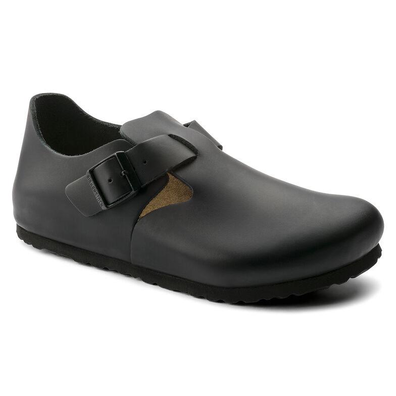London Natural Leather Black1