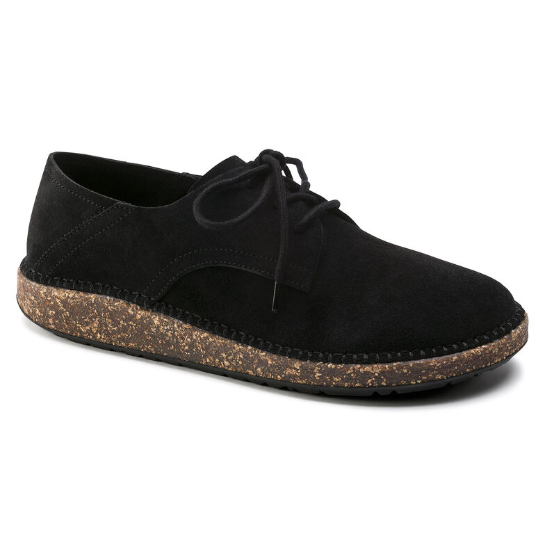Gary Suede Leather Schwarz
