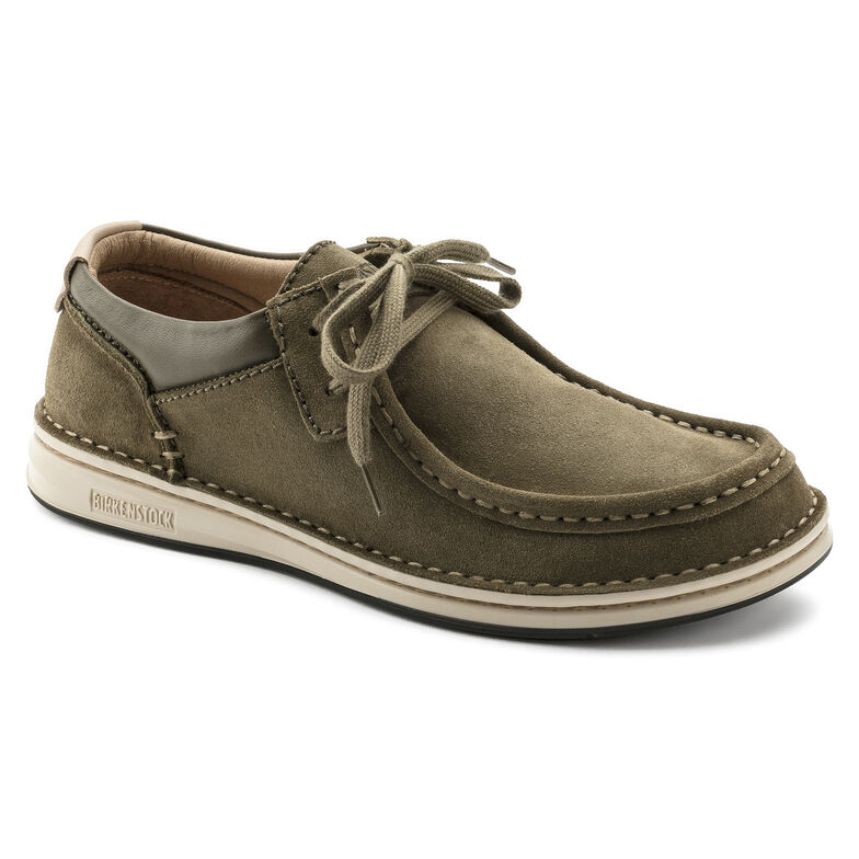Pasadena Suede Leather Khaki