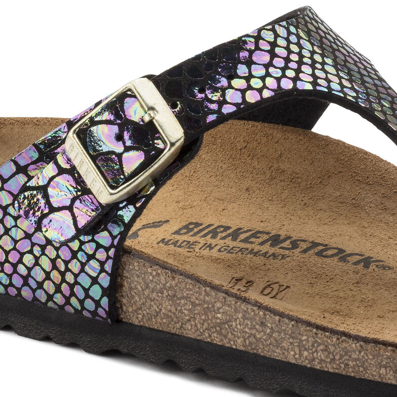 Gizeh Birko-Flor Shiny Snake Black Multicolor