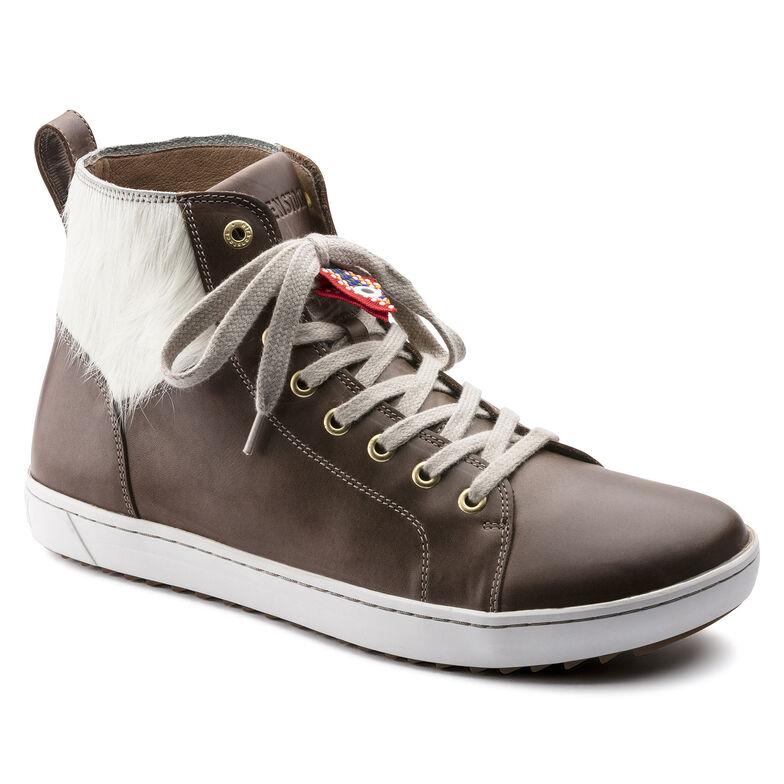 Bartlett Natural Leather/Fur Braun