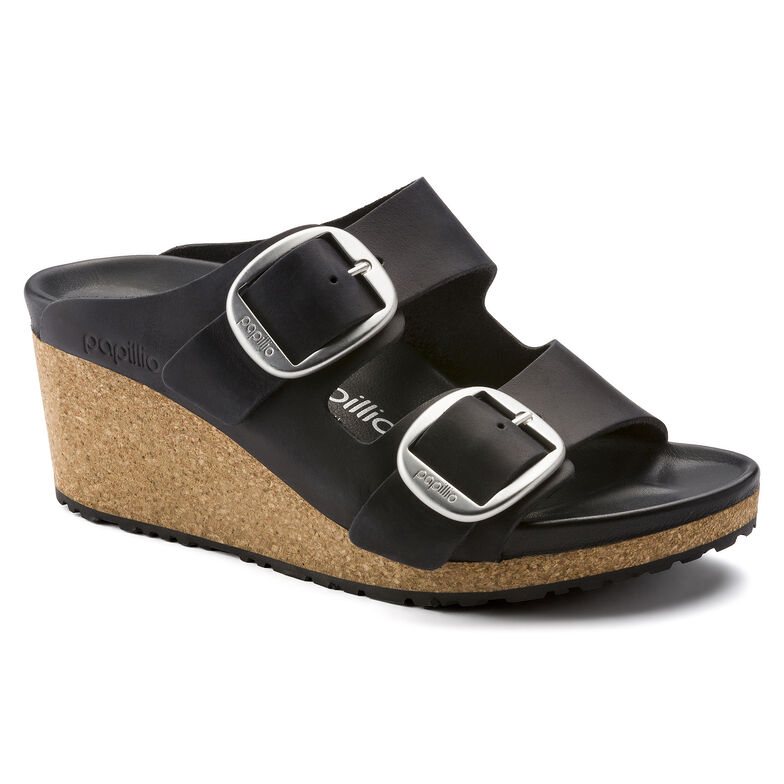 Nora Oiled Leather Black