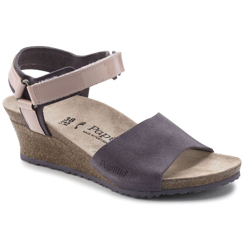 Eve Suede Leather/PVC Lilac