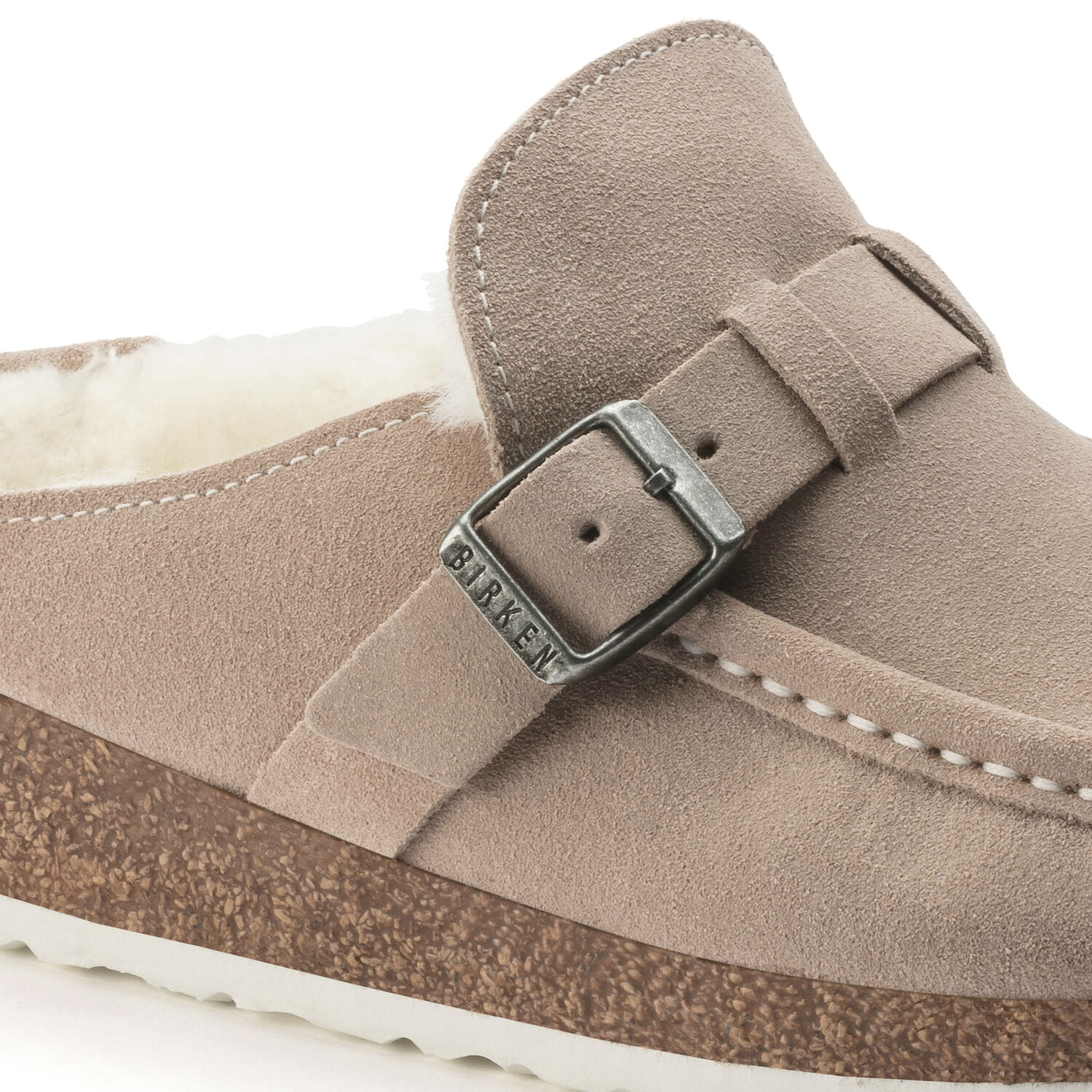 Buckley Suede Leather