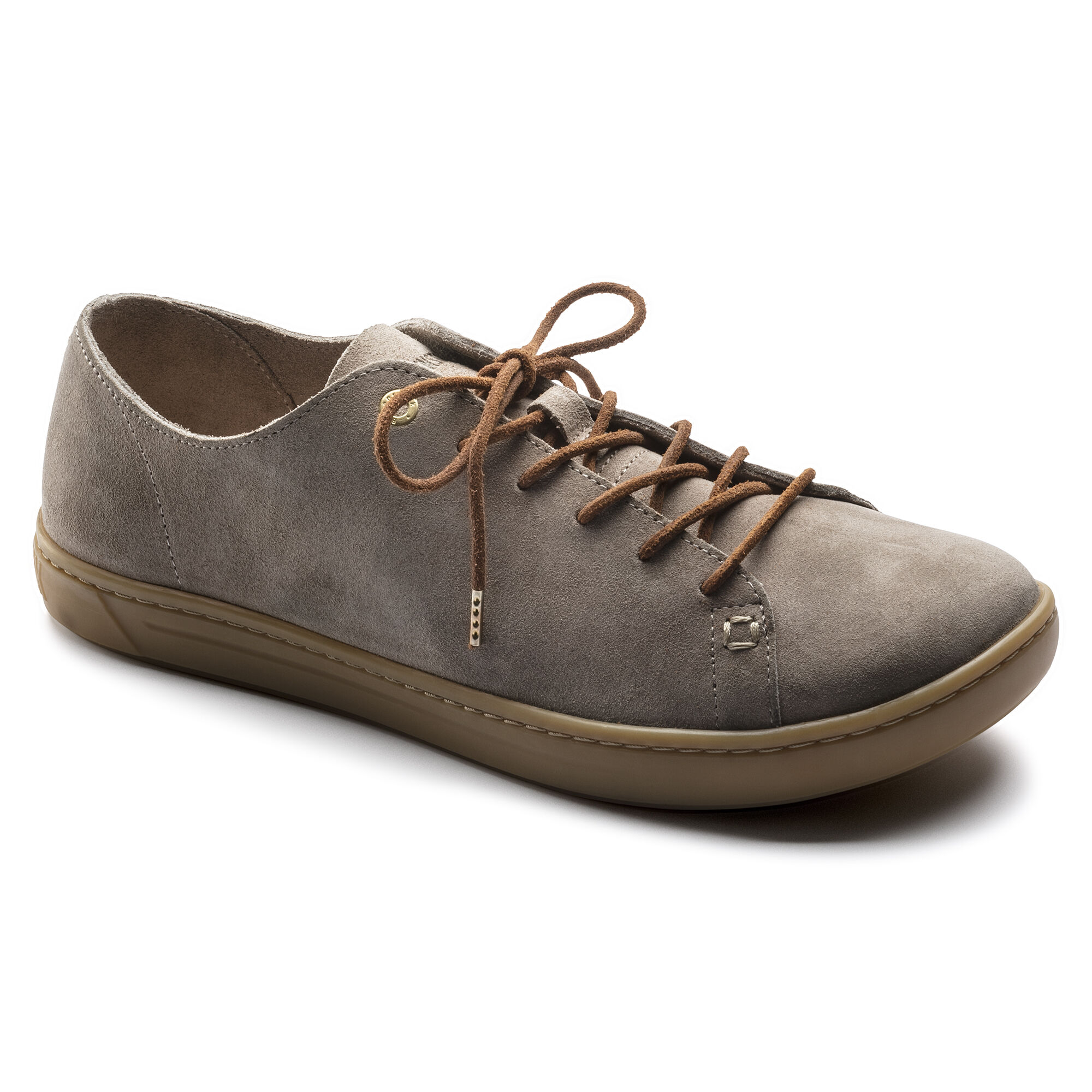 Arran Suede Leather Taupe