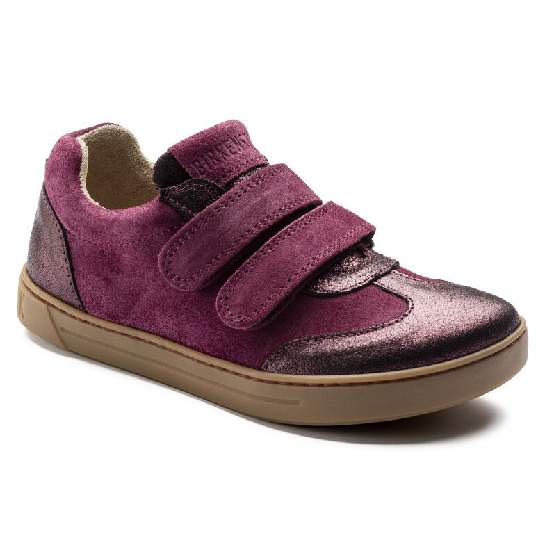 Davao Suede Leather Plum