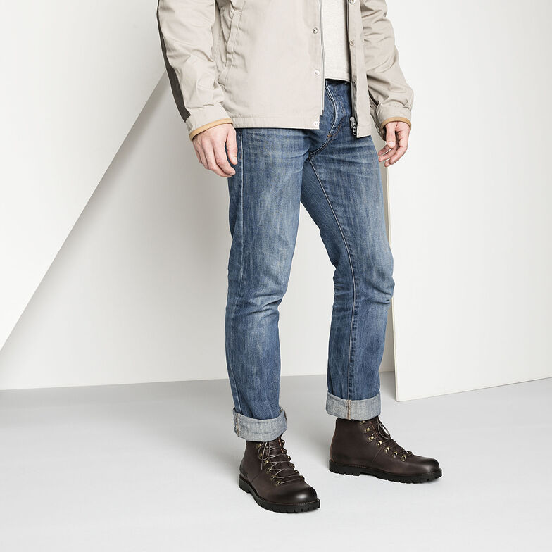 Hancock Nubuck Leather
