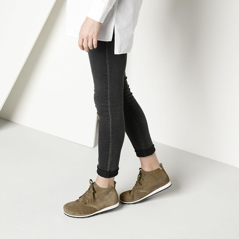 Dundee Plus  Suede Leather Taupe