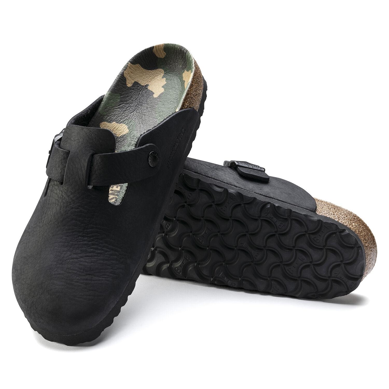 Boston Nubuck Leather