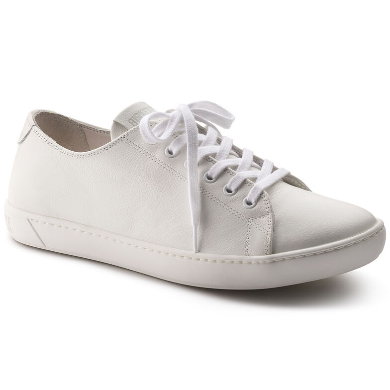 Arran Natural Leather White