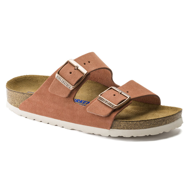 Arizona Suede Leather Earth Red