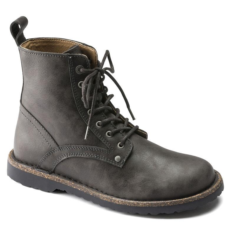 Bryson  Suede Leather Graphite