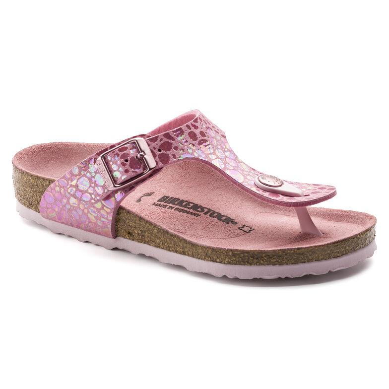 Gizeh Micro Fibre Metallic Stones Pink