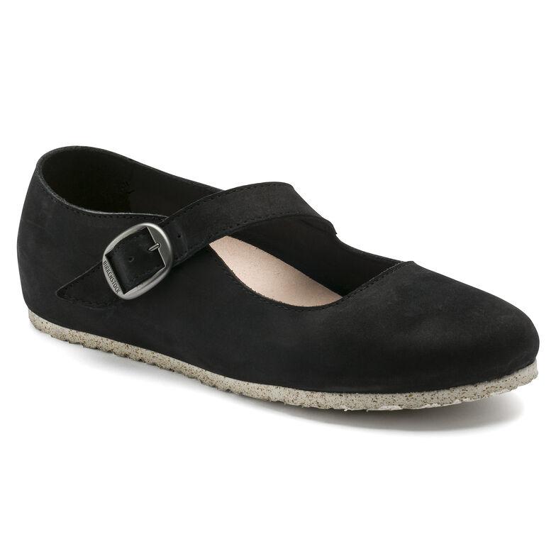Tracy Nubuck Leather Black