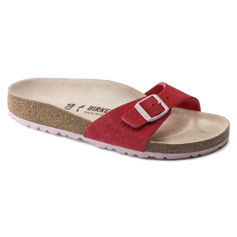 Nubuck Leather Softy Red