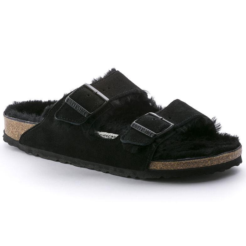Arizona Suede Leather Black