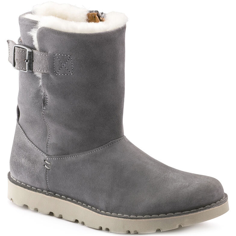 Westford Suede Leather Light Grey