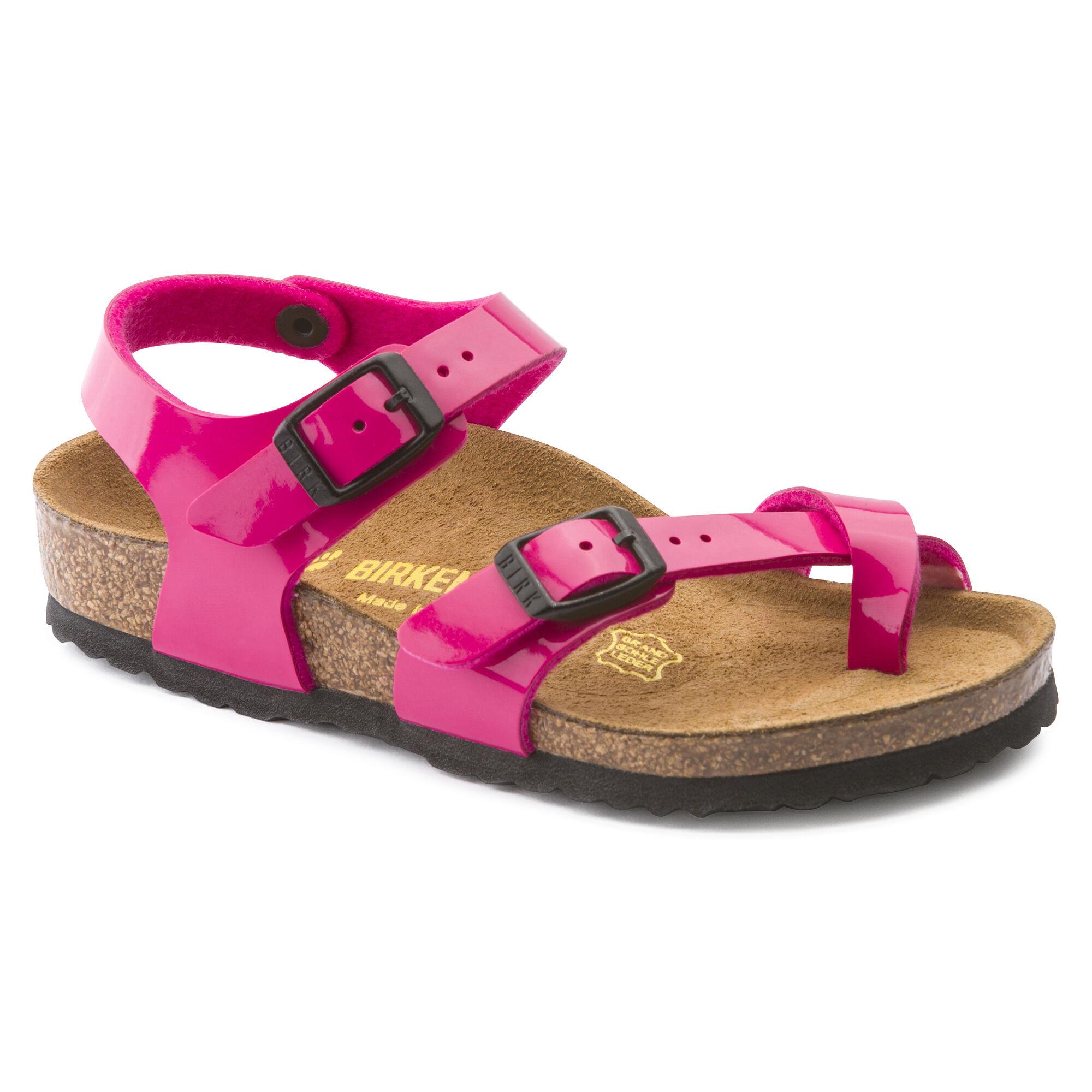 Taormina Birko Flor Pink Patent