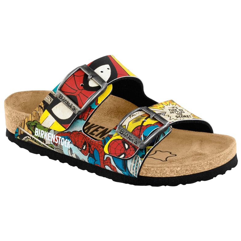 Arizona Birko-Flor Spiderman Comic Pattern