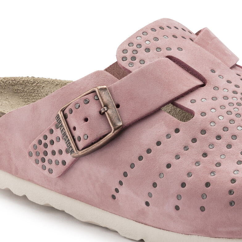 Boston Nubuck Leather Rose