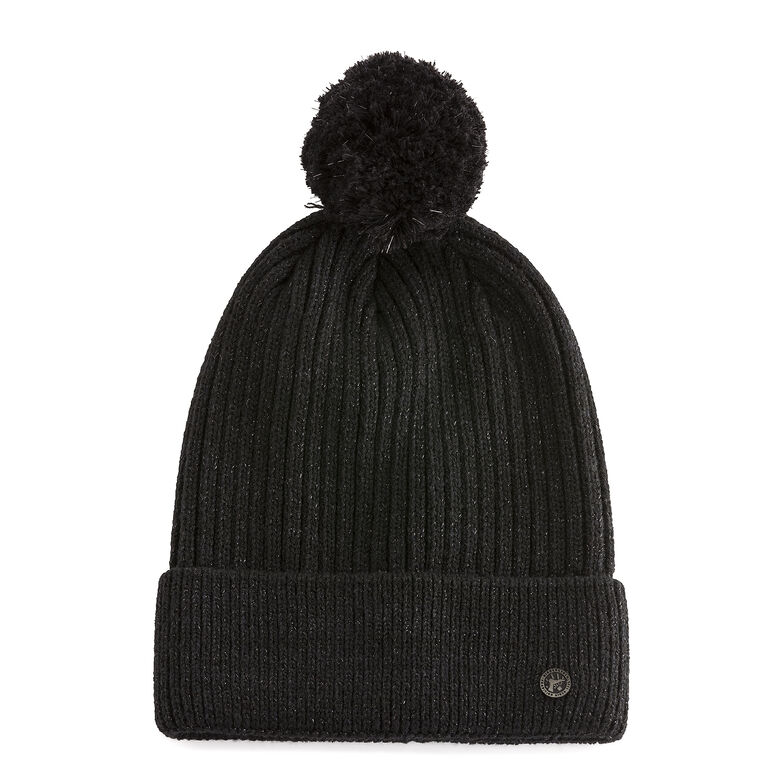 Cotton Hat Bling Black